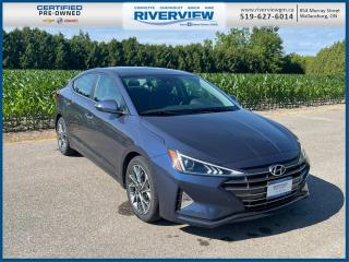 Used 2019 Hyundai Elantra Luxury One Owner| Keyless Entry | Rear Park Assist for sale in Wallaceburg, ON