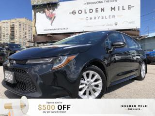 Used 2020 Toyota Corolla LE No Accidents, Sunroof, Heated Seats, Heated Steering, Rear View Camera for sale in North York, ON