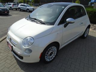 Used 2014 Fiat 500 Lounge for sale in Sarnia, ON