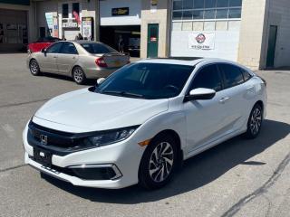 Used 2020 Honda Civic Sedan EX w/New Wheel Design CVT for sale in Caledon, ON
