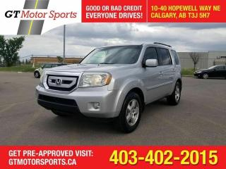 Used 2011 Honda Pilot EX-L I AWD  I $0 DOWN - EVERYONE APPROVED!! for sale in Calgary, AB