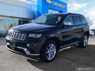 Used 2014 Jeep Grand Cherokee Summit AWD Leather   Sunroof   Navigation for sale in Winnipeg, MB