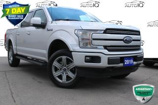 Used 2019 Ford F-150 Lariat LARIAT 502A SUNROOF  CREW CAB 4X4 CERTIFIED for sale in Hamilton, ON