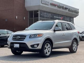 Used 2012 Hyundai Santa Fe Limited 3.5 w/Navigation LEATHER/SUNROOF for sale in Concord, ON