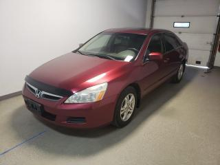 Used 2006 Honda Accord Sdn EX-L Htd Leather Local Clean 46MPG for sale in Brandon, MB