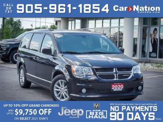 Used 2020 Dodge Grand Caravan Premium Plus  BRAND NEW  DVD  NAVI  for sale in Burlington, ON