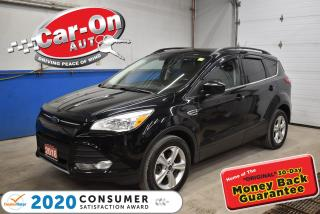Used 2016 Ford Escape SE awd  LEATHER   PANO ROOF   REAR CAM   TOW PKG for sale in Ottawa, ON