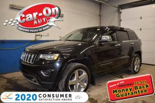 Used 2015 Jeep Grand Cherokee Overland   DIESEL   VENTILATED SEATS   REMOTE STAR for sale in Ottawa, ON