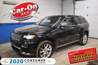Used 2015 Jeep Grand Cherokee Summit   DIESEL   HARMAN/KARDON AUDIO   REMOTE STA for sale in Ottawa, ON