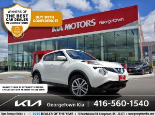Used 2016 Nissan Juke SV   CLN CRFX  6 SPD M/T  BU CAM   HTD SEATS   74K for sale in Georgetown, ON
