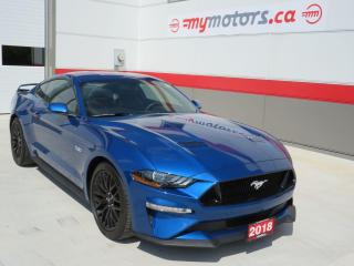 Used 2018 Ford Mustang GT Premium with Navigation for sale in Tillsonburg, ON