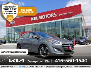 Used 2016 Hyundai Elantra GT GLS | CLN CRFX | PANO ROOF | HTD SEATS | B/T | 83K for sale in Georgetown, ON