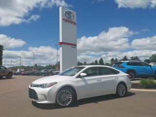 Used 2017 Toyota Avalon Touring  for sale in Moncton, NB