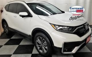Used 2020 Honda CR-V EX-L - Low KM, Clean CarFax for sale in Cornwall, ON