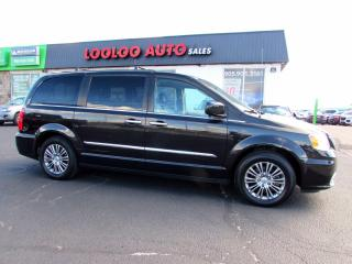 Used 2014 Chrysler Town & Country Touring-L Stow and Go Navigation DVD Camera Certified for sale in Milton, ON