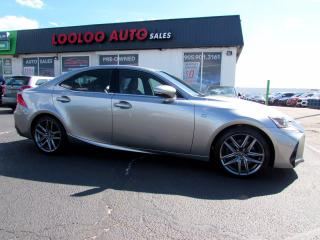 Used 2017 Lexus IS 300 AWD F-Sport Camera No Accident Camera Certified for sale in Milton, ON