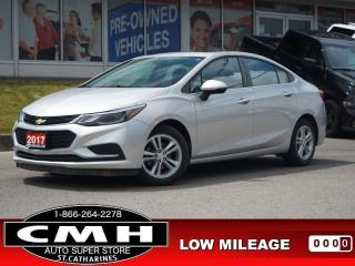 Used 2017 Chevrolet Cruze LT  CAM BLIND-SPOT ROOF 16-AL for sale in St. Catharines, ON
