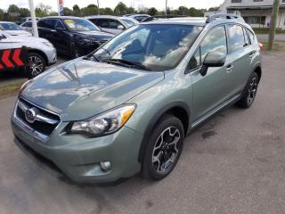 Used 2014 Subaru XV Crosstrek 2.0 Limited Only 79 KM! No Accidents! Leather! Moonroof ! for sale in Dunnville, ON
