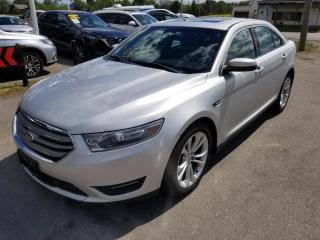 Used 2013 Ford Taurus SEL FWD No Accidents! Navigation! Leather! Moonroof! for sale in Dunnville, ON