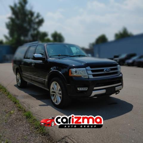 2015 Ford Expedition EL Platinum 4WD Leather/Navi/Quad Captain Seats/Lane departure......