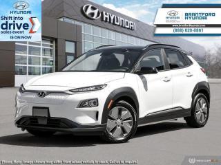 New 2021 Hyundai KONA Electric Preferred w/ Two-tone  - $255 B/W for sale in Brantford, ON