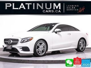 Used 2019 Mercedes-Benz E-Class E450 4MATIC, DISTRONIC, CAM, NAV, PANO, MASSAGE for sale in Toronto, ON
