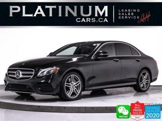 Used 2019 Mercedes-Benz E-Class E450 4MATIC, DISTRONIC, CAM, NAV, PANO, BURMESTER for sale in Toronto, ON