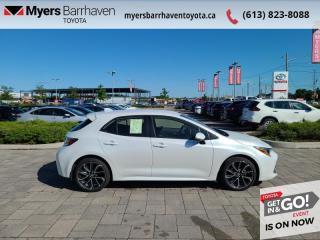 New 2021 Toyota Corolla Hatchback XSE  - Navigation - $185 B/W for sale in Ottawa, ON