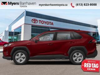 New 2021 Toyota RAV4 Hybrid XLE  - Sunroof - $243 B/W for sale in Ottawa, ON