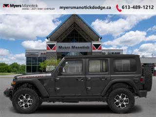 New 2021 Jeep Wrangler Rubicon Unlimited  -  Wi-Fi - $350 B/W for sale in Ottawa, ON