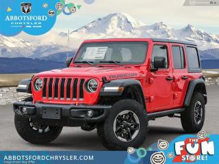 New 2021 Jeep Wrangler Rubicon Unlimited  - Leather Seats - $474 B/W for sale in Abbotsford, BC