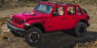New 2021 Jeep Wrangler Unlimited Rubicon for sale in Regina, SK