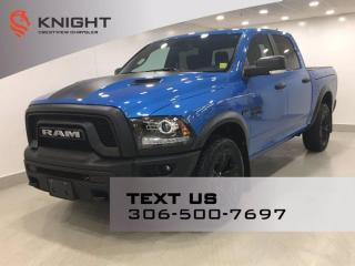 New 2021 RAM 1500 Classic Warlock Crew Cab | Navigation | RamBox | for sale in Regina, SK