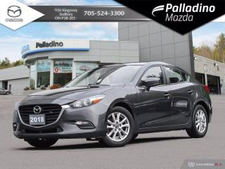 Used 2018 Mazda MAZDA3 GS - HEATED FRONT SEATS AND WHEEL - GAS SAVER!! for sale in Sudbury, ON