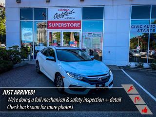 Used 2018 Honda Civic Sedan EX for sale in Port Moody, BC