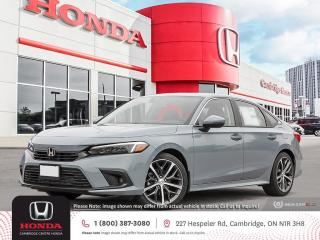 New 2022 Honda Civic Touring GPS NAVIGATION | WIRELESS CHARGING | POWER SUNROOF for sale in Cambridge, ON