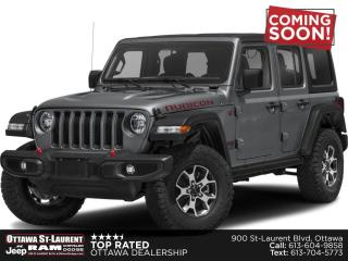 New 2021 Jeep Wrangler Unlimited Rubicon for sale in Ottawa, ON