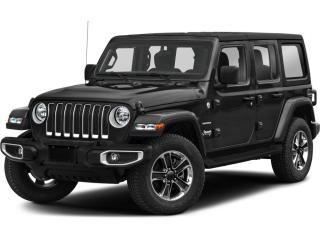 New 2021 Jeep Wrangler Unlimited Sahara for sale in Huntsville, ON