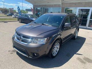 Used 2017 Dodge Journey GT LEATHER BCAMERA HEATED STEERING for sale in Calgary, AB