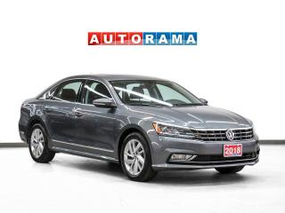 Used 2018 Volkswagen Passat COMFORTLINE LEATHER SUNROOF BACKUP CAMERA for sale in Toronto, ON
