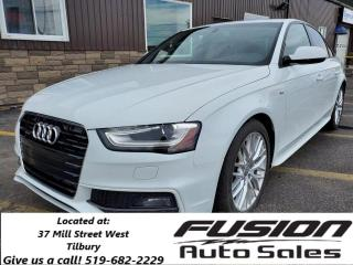 Used 2016 Audi A4 Komfort plus with S Line Sport Package-SUNROOF for sale in Tilbury, ON