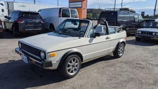 Used 1989 Volkswagen Cabrio RUNS AND DRIVES WELL*AS IS SPECIAL for sale in London, ON