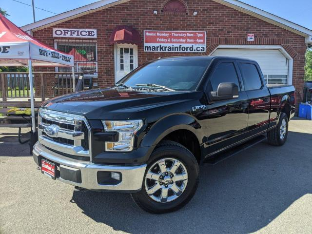 2016 Ford F-150 Supercrew 5.0 Litre 4x4 Panoramic Sunroof 6.5' Box