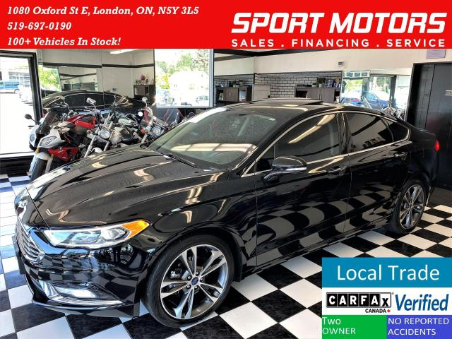 2018 Ford Fusion Titanium AWD+Cooled Leather+ApplePlay+CLEAN CARFAX