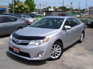 Used 2012 Toyota Camry XLE,Hybrid,GPS,Sunroof,Leather,Certified, Low KM's for sale in Kitchener, ON
