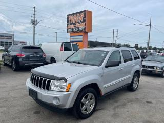 Used 2006 Jeep Grand Cherokee Limited*LEATHER*4X4*V8*DRIVES GREAT*AS IS for sale in London, ON