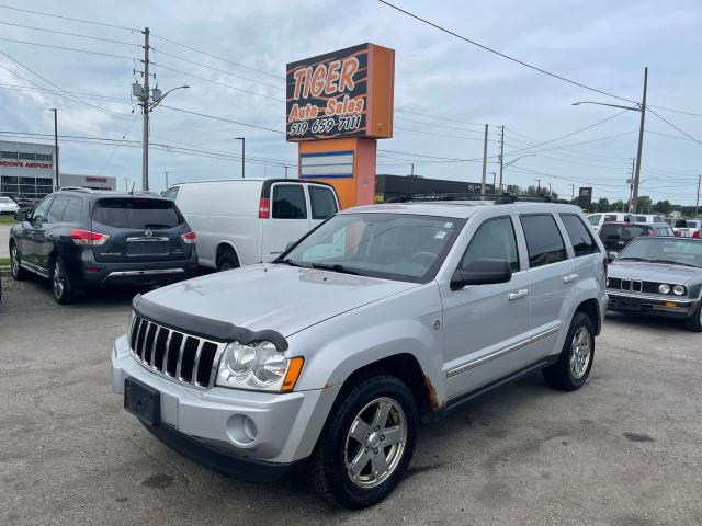 2006 Jeep Grand Cherokee Limited*LEATHER*4X4*V8*DRIVES GREAT*AS IS
