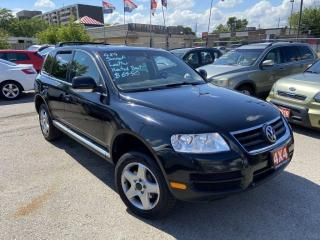 Used 2004 Volkswagen Touareg 4X4, Leather, Sunroof, Automatic, 3/Y Warranty Ava for sale in Toronto, ON