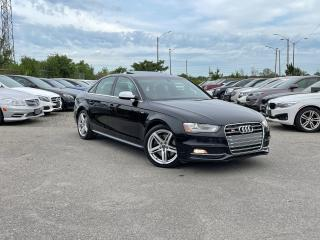 Used 2013 Audi S4 RED LEATHER| BRAND NEW CLUTCH for sale in Oakville, ON