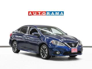 Used 2016 Nissan Sentra SR Navigation Leather Sunroof for sale in Toronto, ON